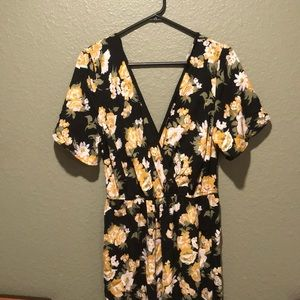 Flower pants Romper ! Perfect for Fall